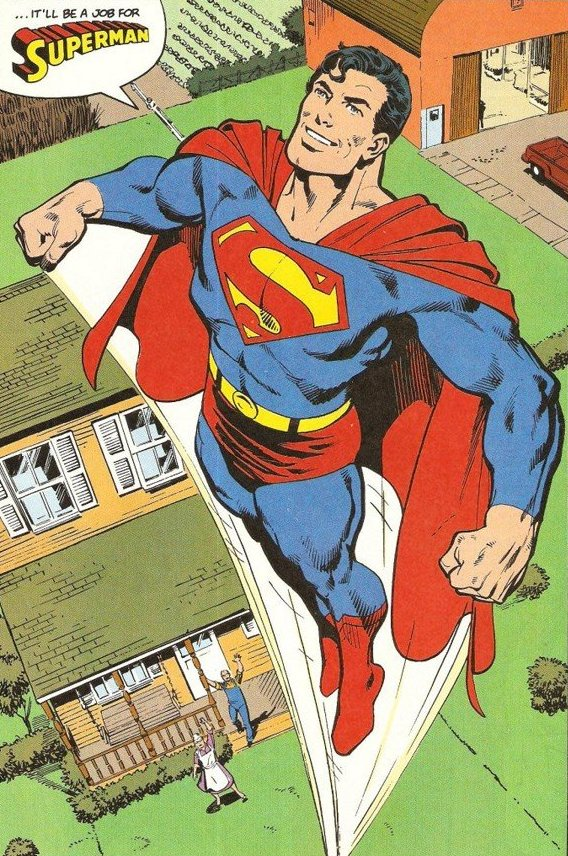 Superman by John Byrne and Dick Giordano