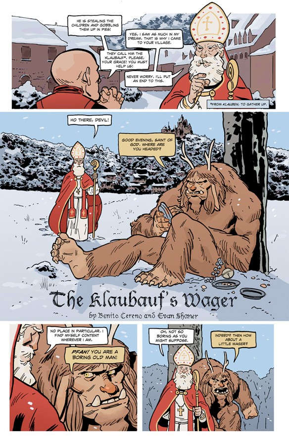 The Klaubauf's Wager Page 1