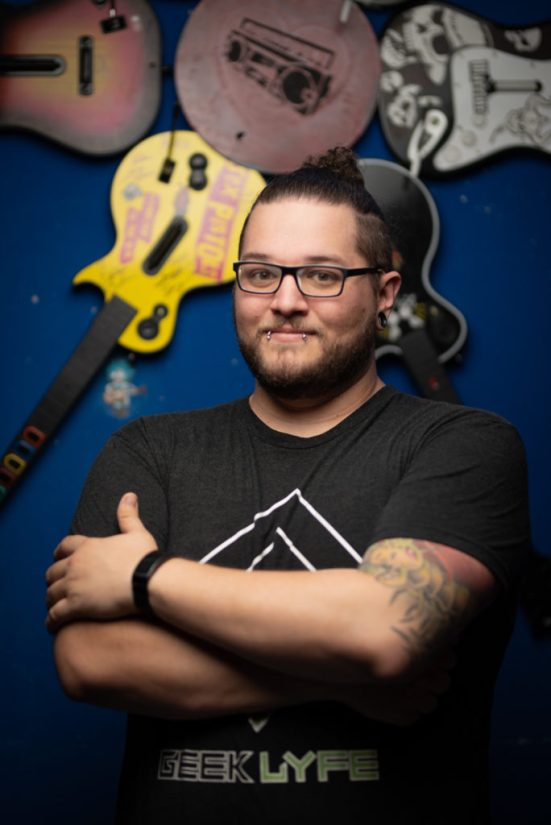 Rob (Staff Shoot) - The Geek Lyfe