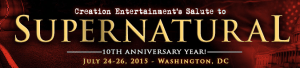 Salute to Supernatural logo 2015