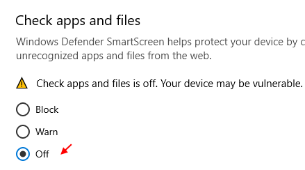 Turn Off Check Apps Files Min