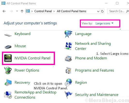 Ctrl Pnl Nvidia Control Panel Missing Windows 10