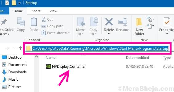 Paste Container Nvidia Control Panel Missing Windows 10