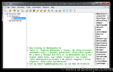 Mirc Irc Client Windows Pc Min