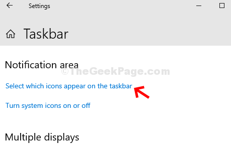 Pengaturan Taskbar Notification Area Pilih Ikon Yang Muncul Di Taskbar