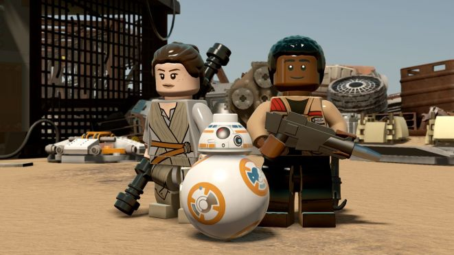 Lego Star Wars the Force Awakens is Here
