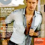 Alexander Skarsgård in GQ Magazine
