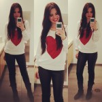 Outfit Of the Day: Casual Valentine's Day
