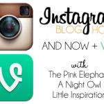Instagram + VINE Blog Hop [COHOST]