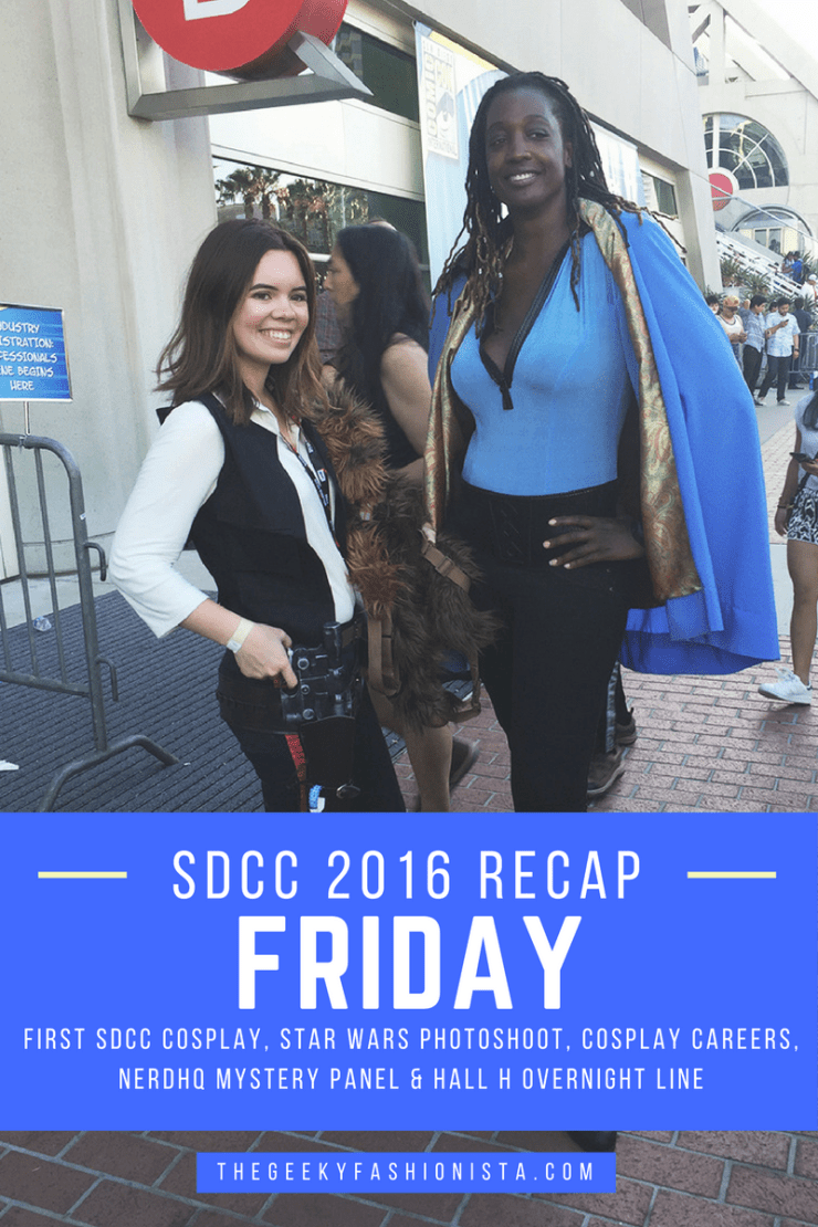Comic Con 2016 Friday Recap