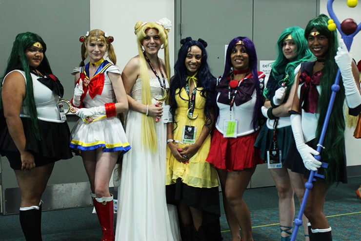 Comic Con Sailor Moon Cosplay