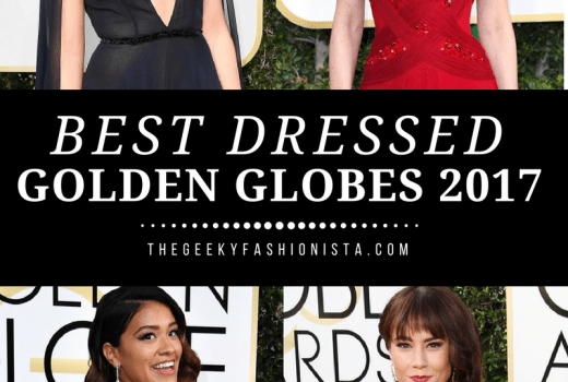 Golden Globes Best Dressed // The Geeky Fashionista