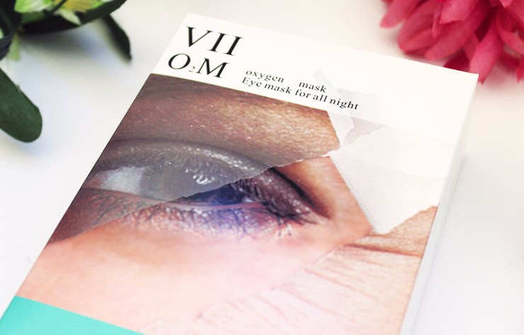 VII Code Oxygen Eye Mask // The Geeky Fashionista