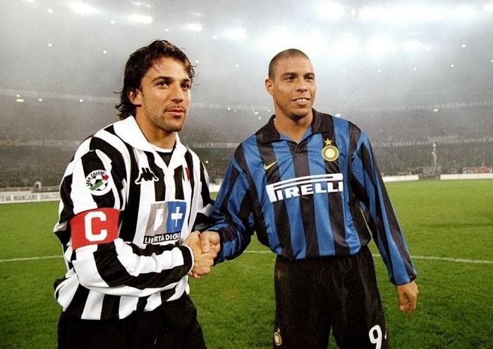 Alex Del Piero e Ronaldo
