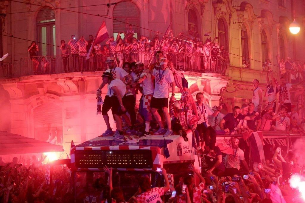 Croazia parade