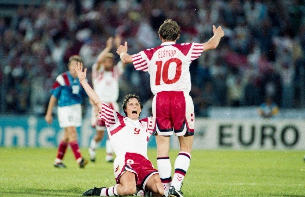 Festa dei giocatori danesi