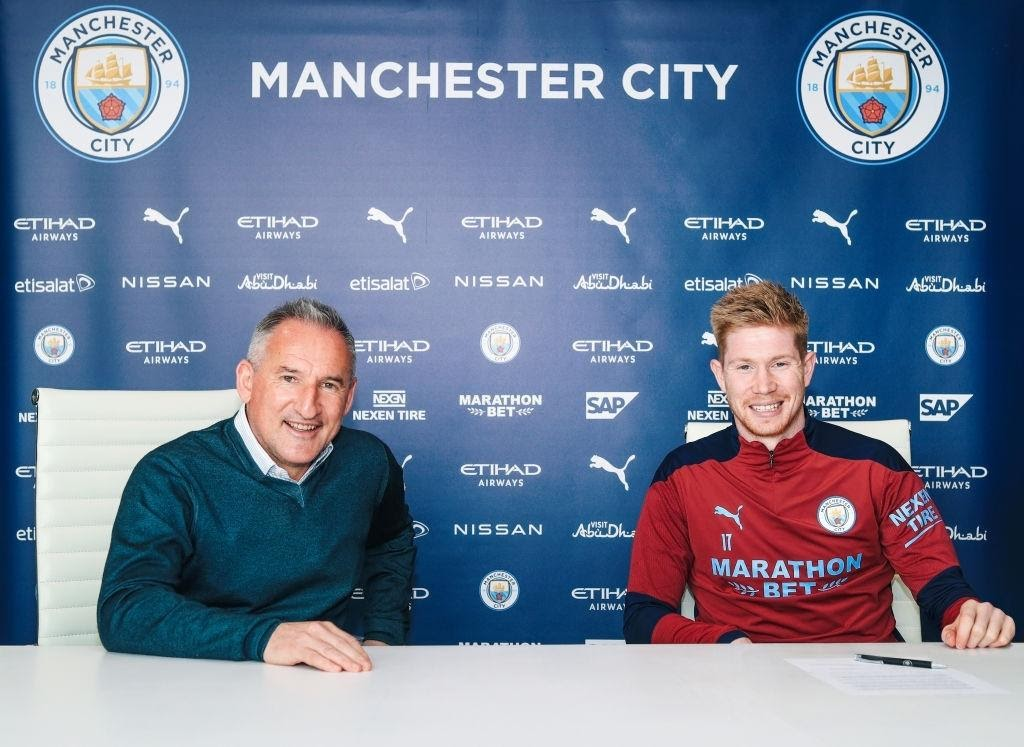 Kevin De Bruyne new contract