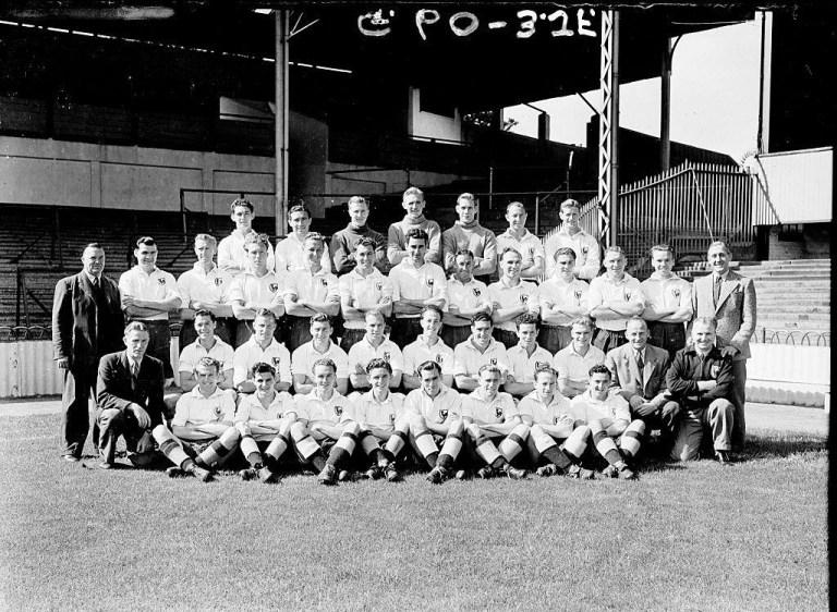 Tottenham Hotspur ad inizio anni '50