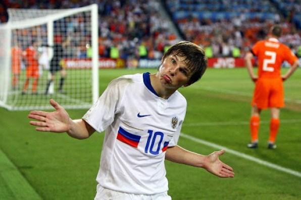 Arshavin vs Olanda Euro 2008