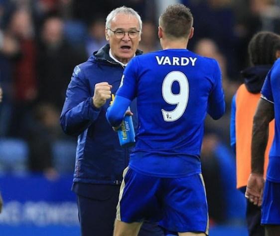 Ranieri e Vardy