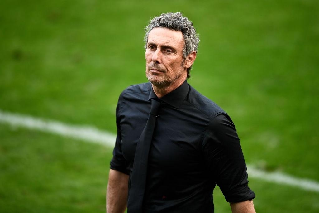 Luca Gotti sulla panchina dell'Udinese