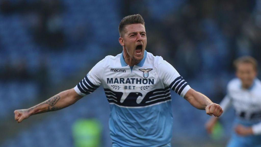 Milinkovic-Savic esulta dopo un gol