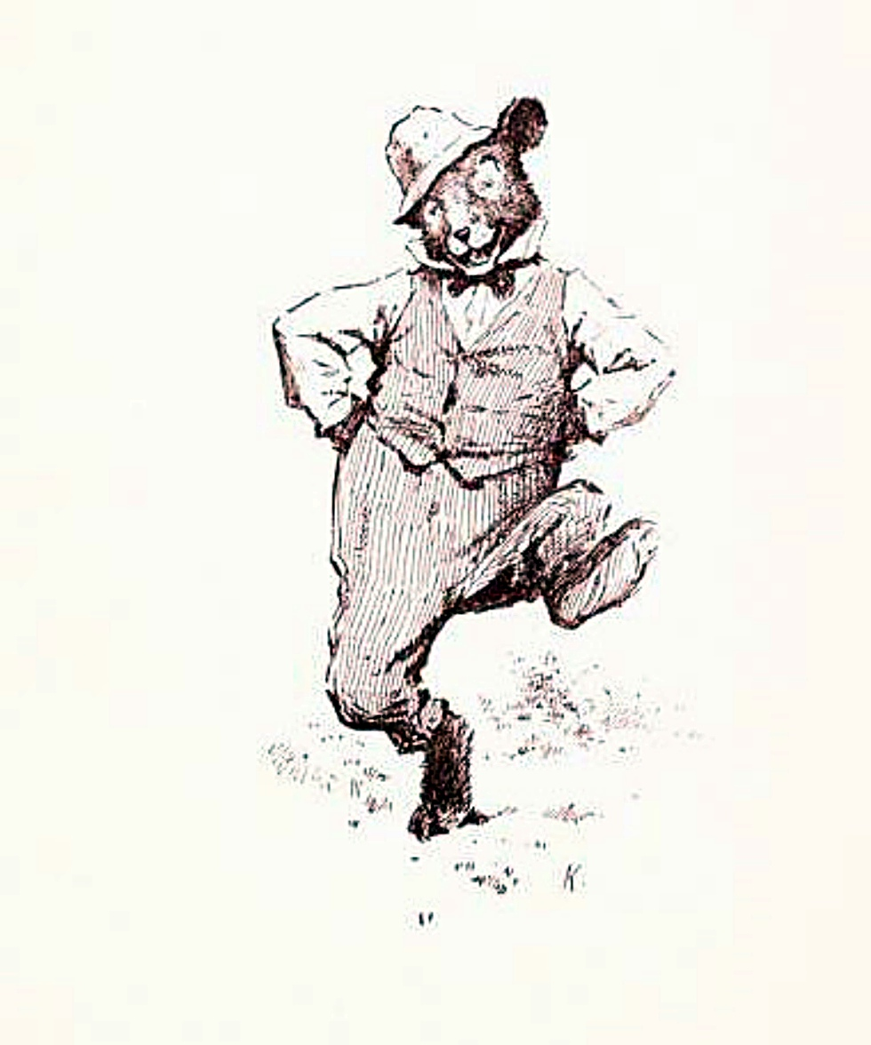 "THE GEM 30 AUGUST 2016 : ""The important thing isn't that the bear dances well, rather that the bear dances at all!"" — Unknown Smart Person 