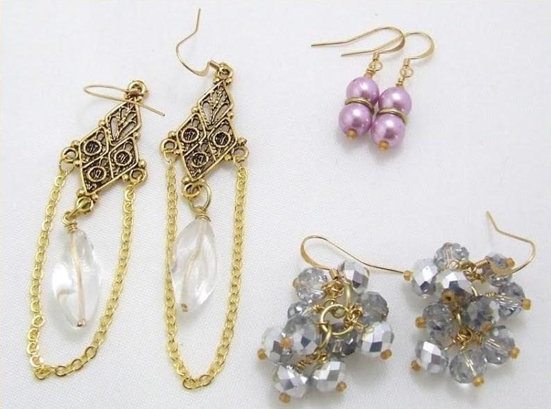 Earrings 3 ways