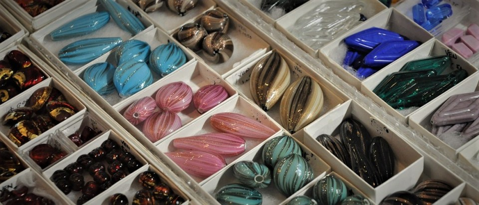 Murano glass from Italy