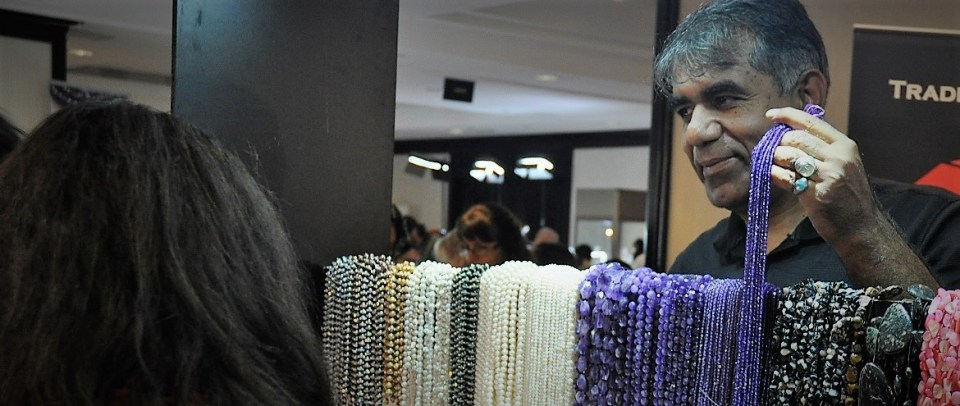Gemstone beads from around the world