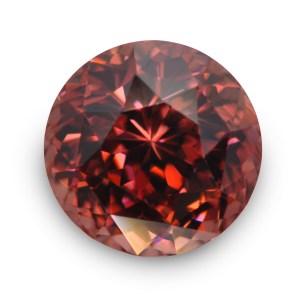 Natural Gemstone, Jewellery,The Gem Monarchy, Gem Monarchy, TheGemMonarchy, GemMonarchy, Monarchy, Gems, Jewelry, Zircon, Ceylon, Red, Pink, Flower, Round