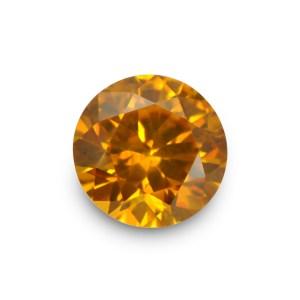 Natural Gemstone, Jewellery,The Gem Monarchy, Gem Monarchy, TheGemMonarchy, GemMonarchy, Monarchy, Gems, Jewelry, Zircon, Ceylon, Round, Yellow, Orange, Yellowish Orange, Brilliant