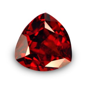 Natural Gemstone, Jewellery, Jewelry, Garnet, Pyrope, Africa, Mozambique, Red, Trilliant, Modified Flower, The Gem Monarchy, Gem Monarchy, TheGemMonarchy, GemMonarchy, Monarchy, Gems
