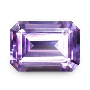 Natural Gemstone, Jewellery, Jewelry, Quartz, Purple, Amethyst, Uruguay, Rectangle, Emerald