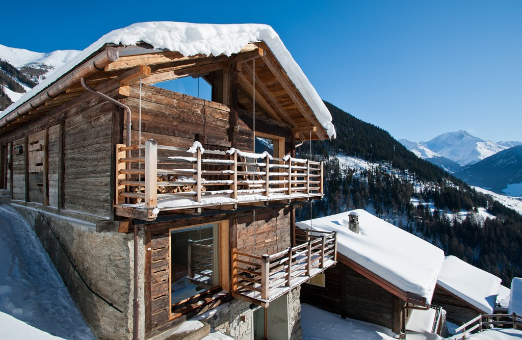 avoid the crowd and rent a beautiful swiss chalet in the alps