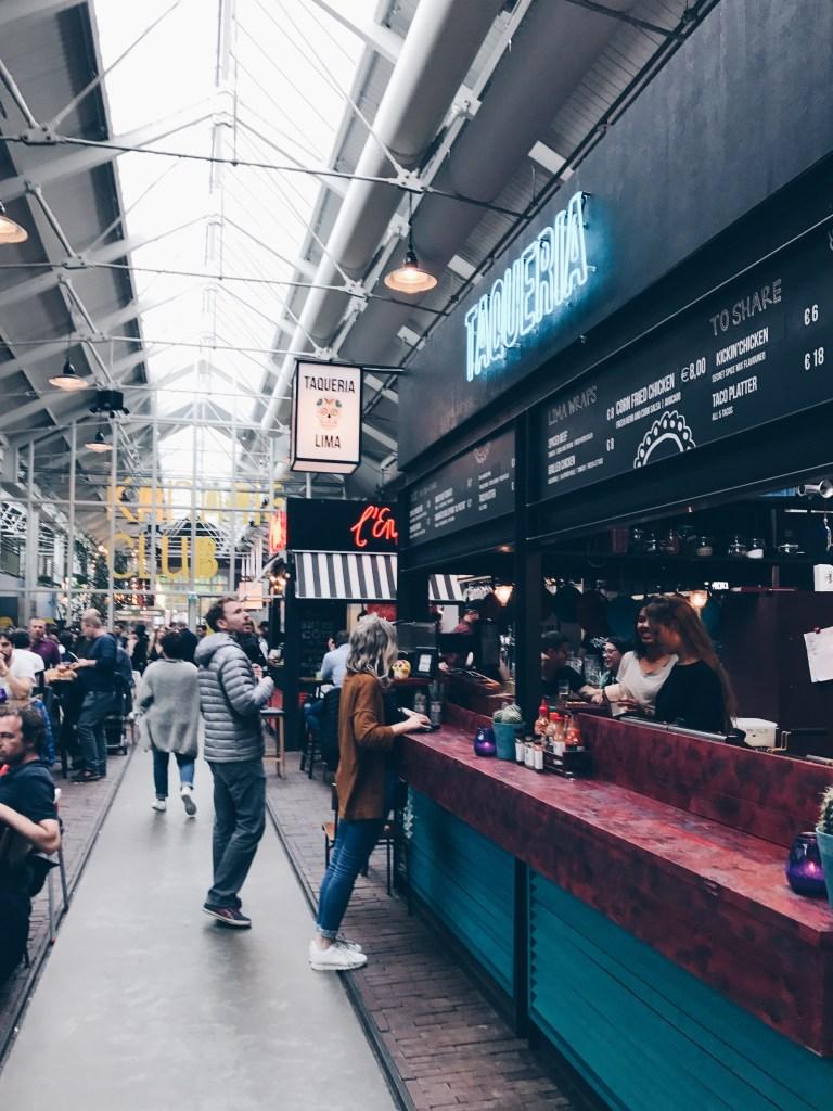 The Foodhallen in Amsterdam , the best place for foodies