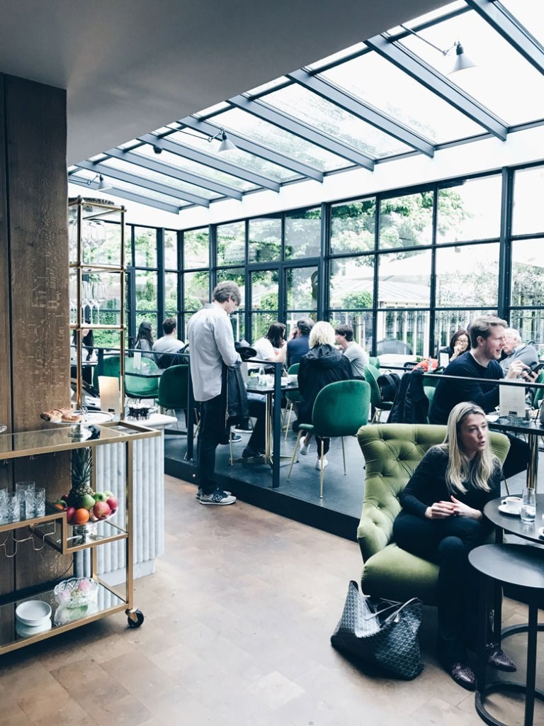 The Pulitzer Hotel in the heart of Amsterdam, design and elegance