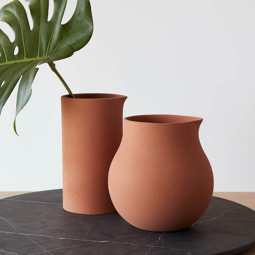 handmade decor items terracotta pot