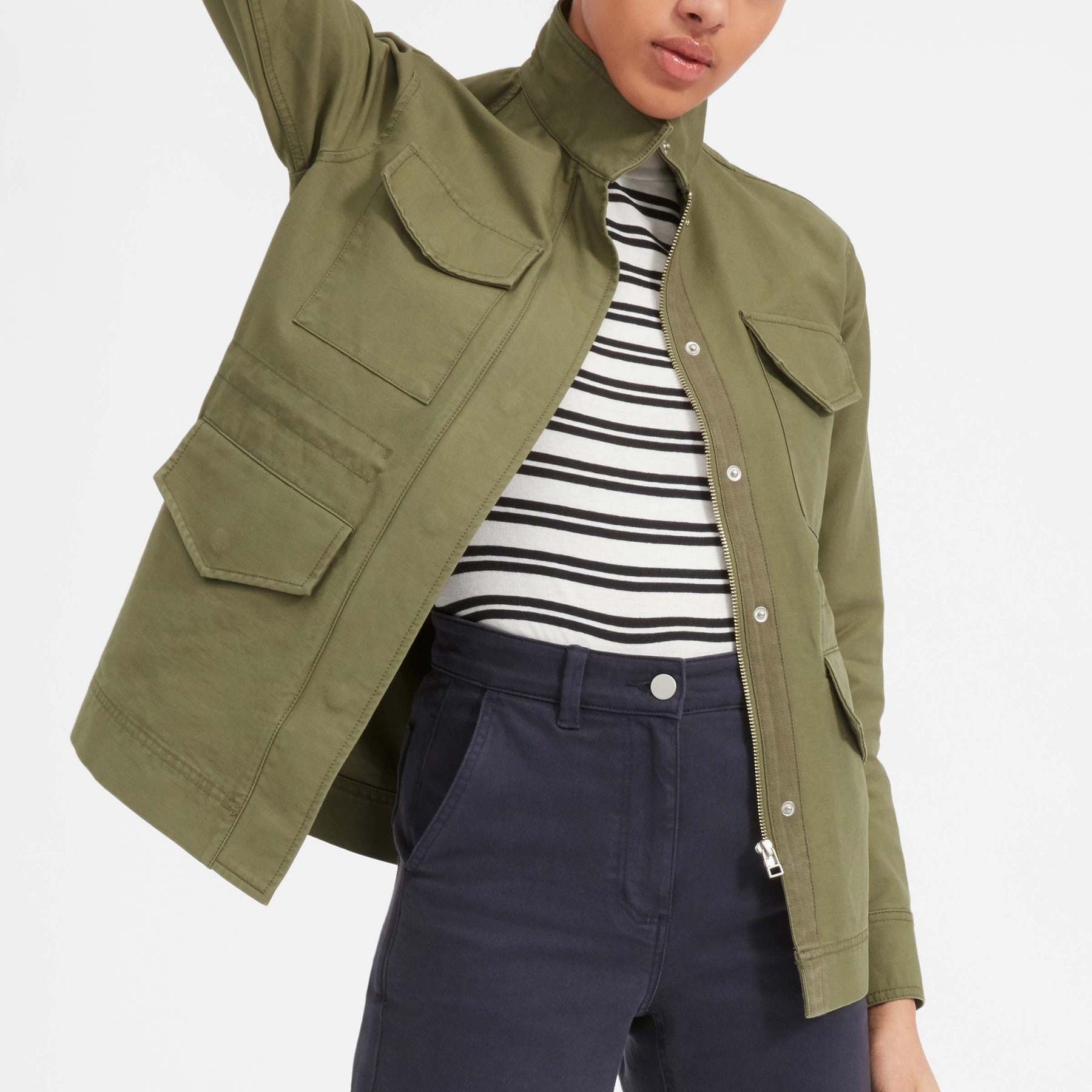 The Modern Utility Jacket - spring cleaning - The Gem Picker