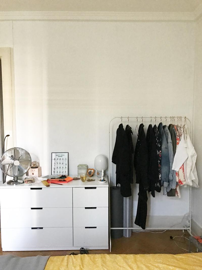 Open Wardrobe DIY - Before