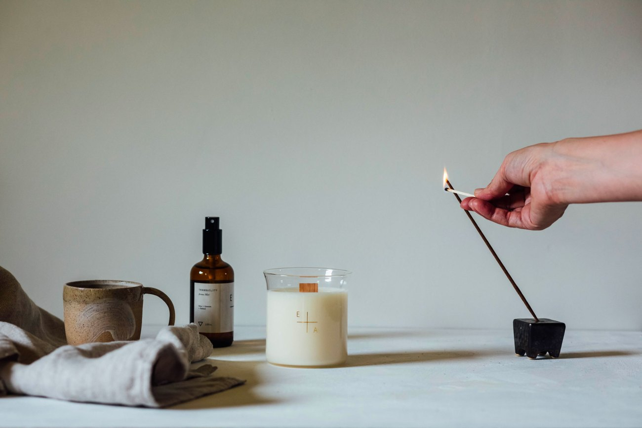 the art of candle making with Essence + Alchemy
