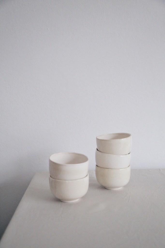 Ceramic Studio Maitoinen - bowls in pile