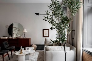 Scandinavian interior design is much more than just light wood and pastel colours, simply take a look at this swedish home to see a timeless scandinavian