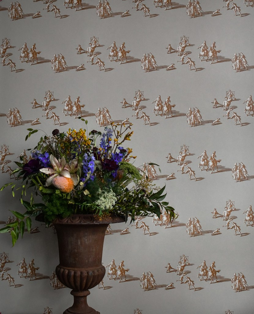 decorating with wallpaper ulricehamns by langelid von bromssen a walk in the park