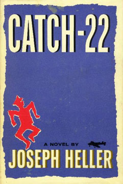 Catch-22 book cover - Joseph Heller - bureaucracy, absurdity, morality