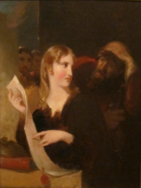 Portia and the Merchant of Venice by Thomas Sully - Michael Radford, William Shakespeare - 2004 court scene analysis