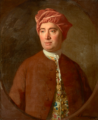 Portrait of David Hume by Allan Ramsay - is-ought problem - David Hume - moral anti-realism