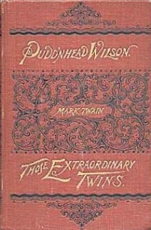 Pudd'nhead Wilson book cover - Mark Twain - irony, satire