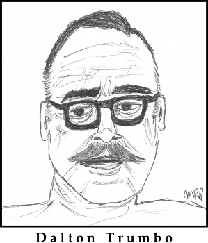 Dalton Trumbo Sketch by M.R.P. - Jay Roach, historical accuracy, subtle acting