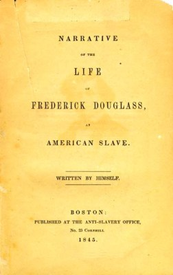 Narrative of the Life of Frederick Douglass, an American Slave title page - autobiography, sincerity, community